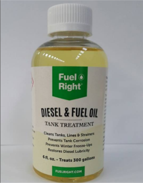 Diesel & Fuel Oil Fuel Right Bottle